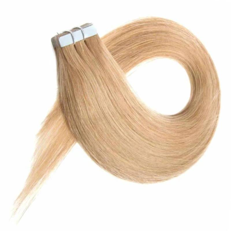 Dark Blonde #18 Tape-In 100% Human Hair Extensions