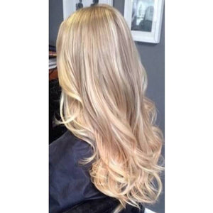 #18/613 Dark Blonde mixed with Platinum Blonde