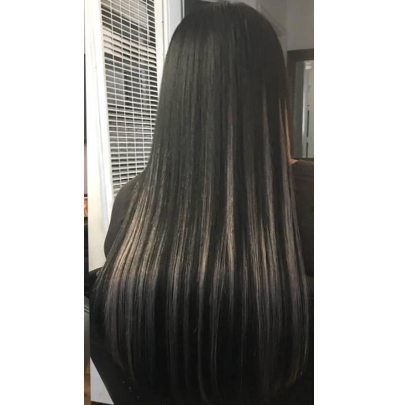 #1B/613 Off Black mixed with Platinum Blonde