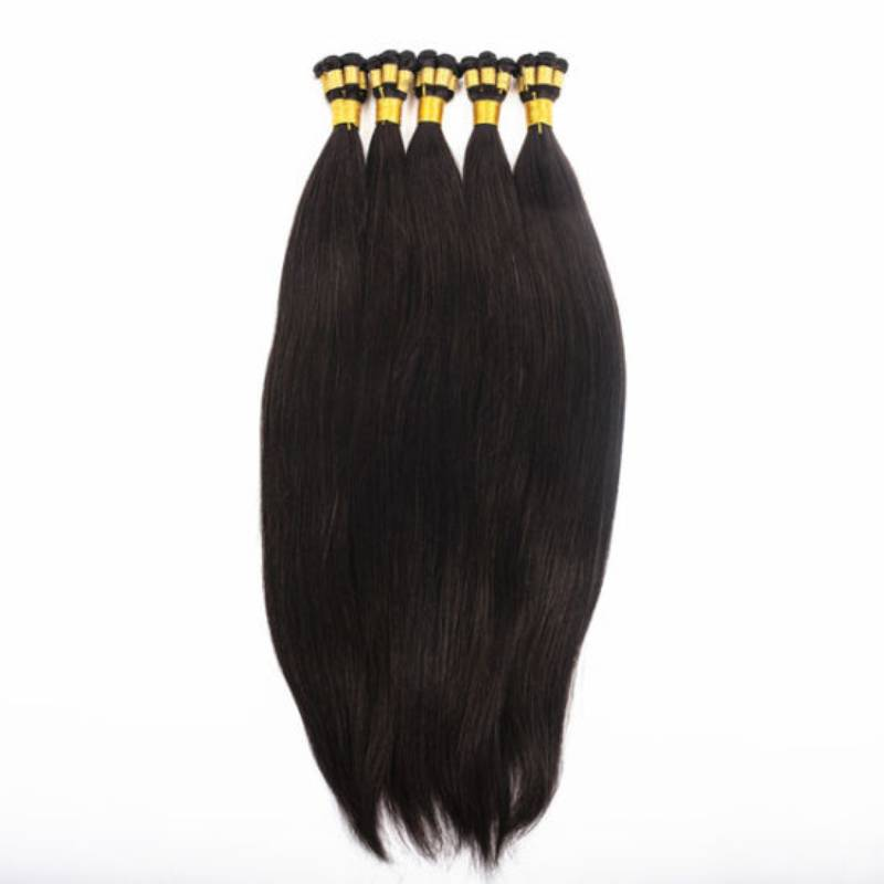 #1b Tap Hand-Tied Weft Hair