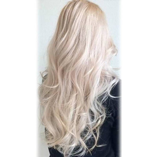 #60 White Blonde (Slightly Golden)