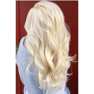 #613 Platinum Blonde with a tinge of golden