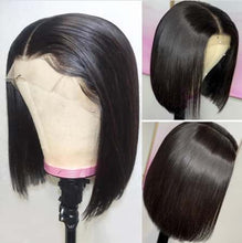 Load image into Gallery viewer, Bob Lace Front Wigs Straight Hair 150% - 180% Density Wigs Human Virgin Hair