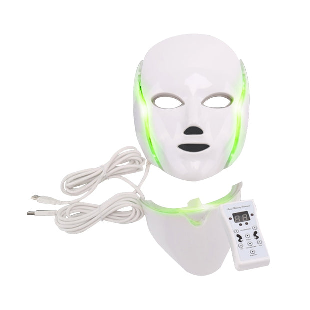 7  LED Neck Skin Rejuvenation Mask - Beauty and Everything
