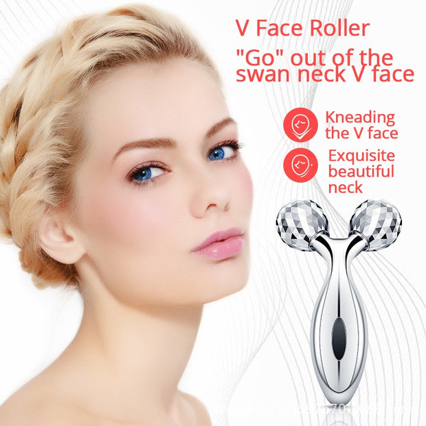 Y Shape 3D 360 Rotate Face-lift Roller - Beauty and Everything
