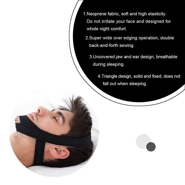 Anti Snore Stop Chin Strap Belt - Beauty and Everything