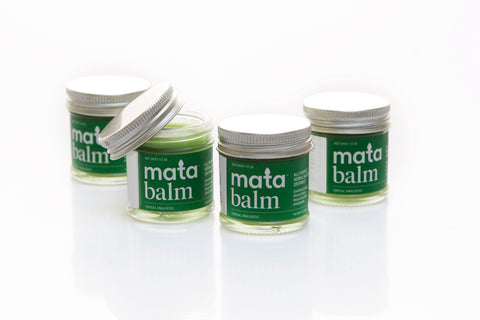 Set of 4 Luxurious Massage and Skin Healing Balms
