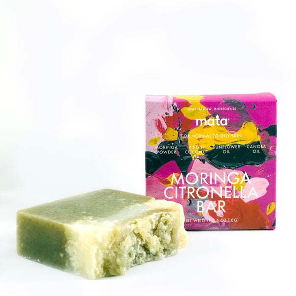 WHOLESALE, Case of 5 Moringa Citronella Hand and Body Bars