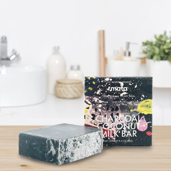 Charcoal Coconut Milk Soap