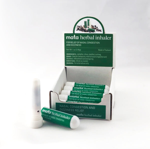 WHOLESALE, Case of 10 Natural Herbal Inhalers for Nasal Congestion