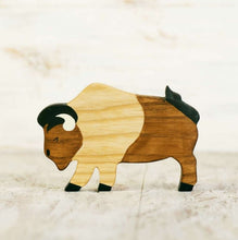 Load image into Gallery viewer, Wooden Bison