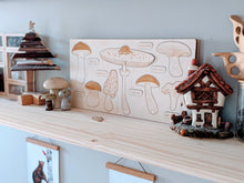 Load image into Gallery viewer, Mushroom Wooden Puzzle