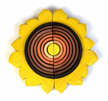 Load image into Gallery viewer, Wooden Sunflower Stacker