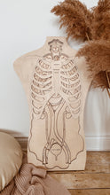 Load image into Gallery viewer, Human Anatomy Wooden Puzzle