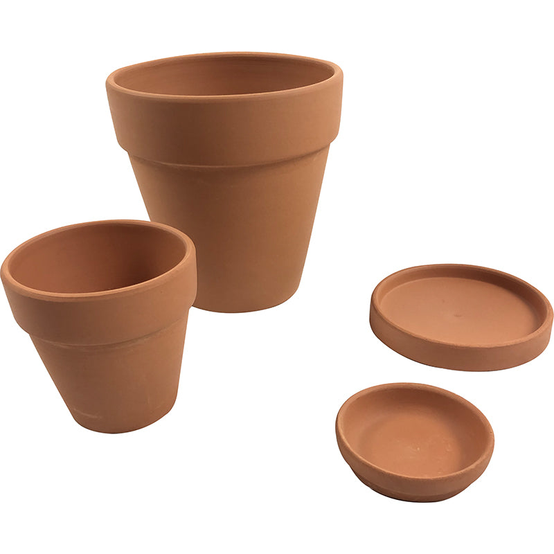 """Clay Dreaming"" Terracotta Planter & Dish"