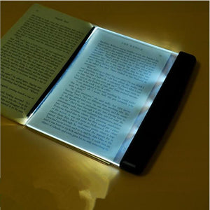 Creative Fashion LED Night Light Book Light Portable Reading Lamp Novelty Wireless Eye Protection Battery Lamp lampara para leer