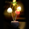 Mushroom Fungus Night Light  Sensor 220V 3 LED Colorful Mushroom Lamp Led Night Lights