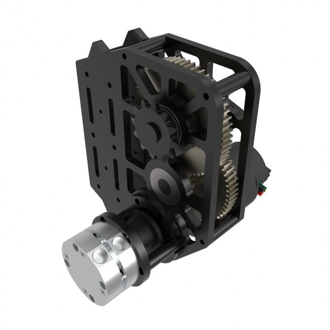 WCP-0225: WCP Rotation SS Gearbox (2 Stages) (Friction Brake Config)