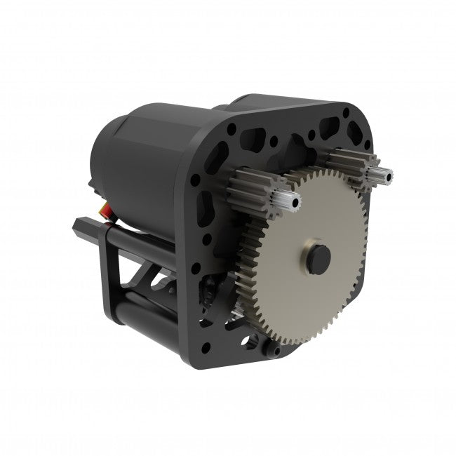 WCP-0235: WCP SS Flipped Gearbox (SingleSpeed, 2 Stages)