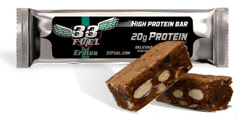 33fuel 10 FREE hacks for health, performance and happiness - eroica protein bar