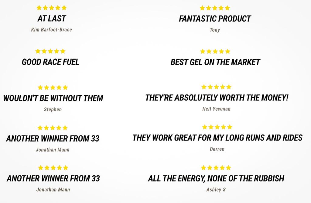 33fuel review - thousands of happy customers left a 33fuel review