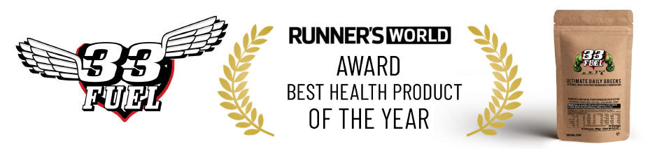 33fuel review - health product of the year award winning