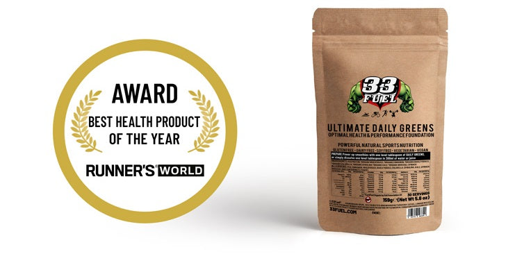 33fuel mark cavendish training - ultimate daily greens