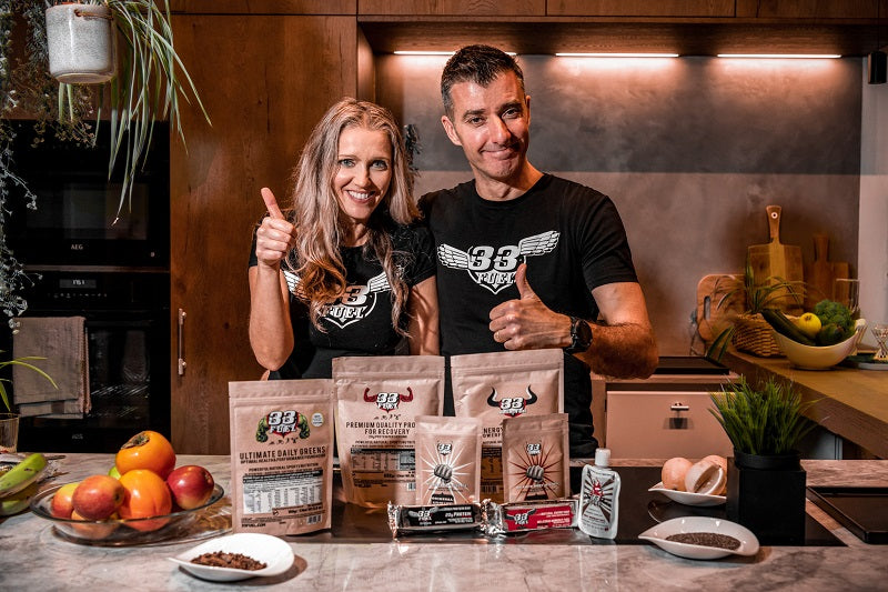 33fuel discount code - Erica and Warren Co founder 33Fuel natural sports nutrition