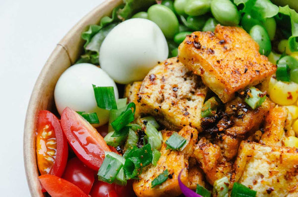 33fuel how to build muscle on a plant based diet - tofu