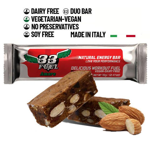 33fuel review - amore energy bar