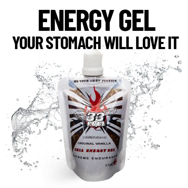 33Fuel Energy Gel Natural Vegan Vegetarian