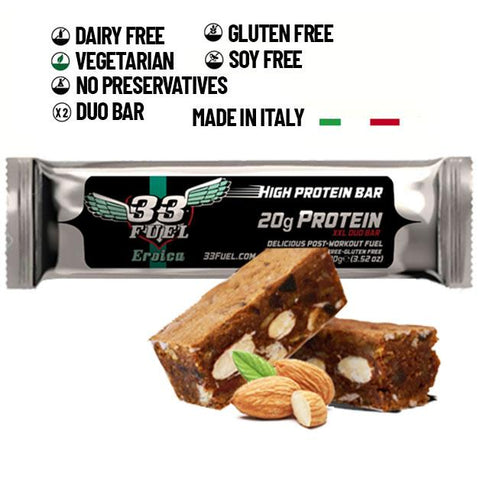 33fuel review - eroica protein bar
