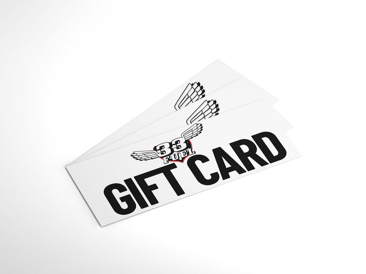 33Fuel Natural sports nutrition Gift Card