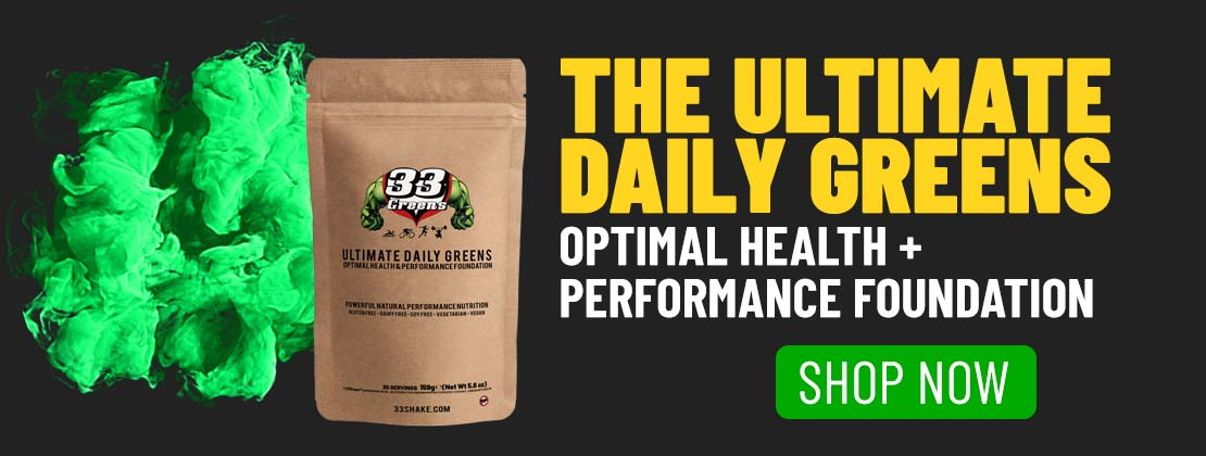 maximise training effect - 33 daily greens