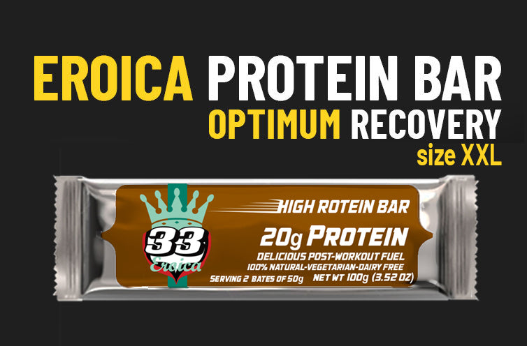 33fuel athletic lessons to improve your career - eroica protein bar