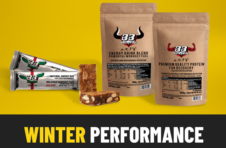 33fuel best christmas gifts for athletes - winter performance bundle