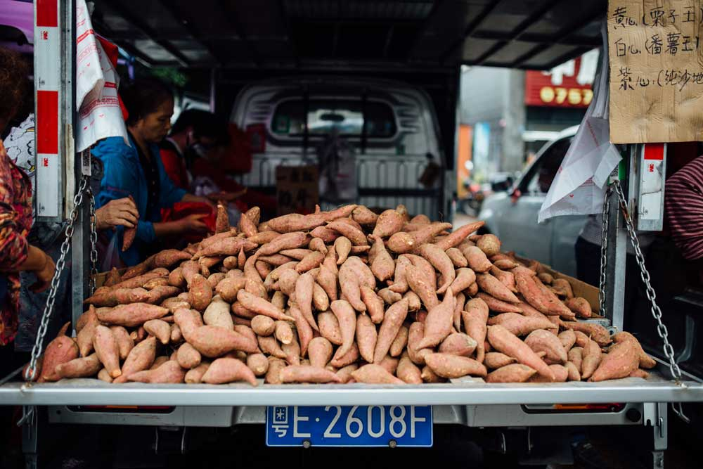 best foods to boost your immune system - sweet potato