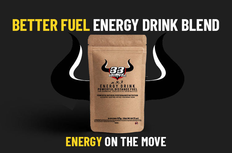 sports nutrition ingredients - 33fuel better fuel energy drink blend