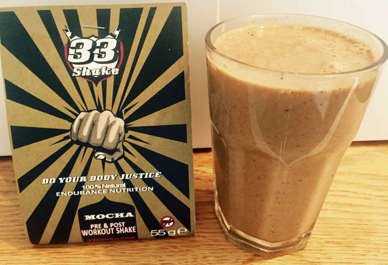 33Shake pre and post workout shake eat before a workout