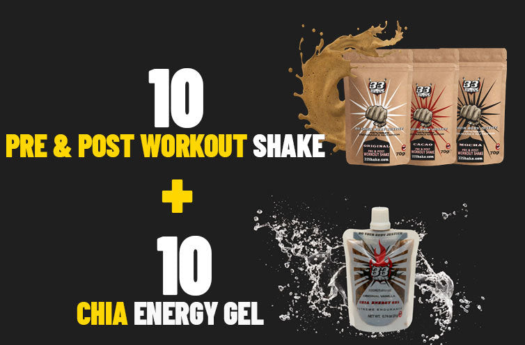 Six lessons from the world's greatest triathletes 33shake pre and post workout shake