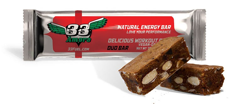 33fuel plant based diet for athletes - amore energy bar