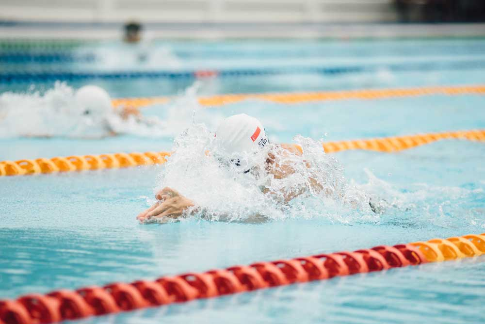 lane rage - swimming in a busy pool drills