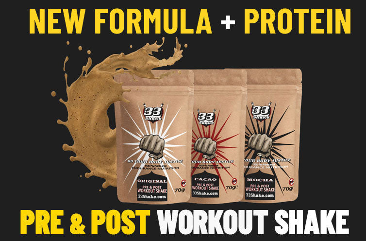 Dairy and athletic performance 33shake pre and post workout shake new