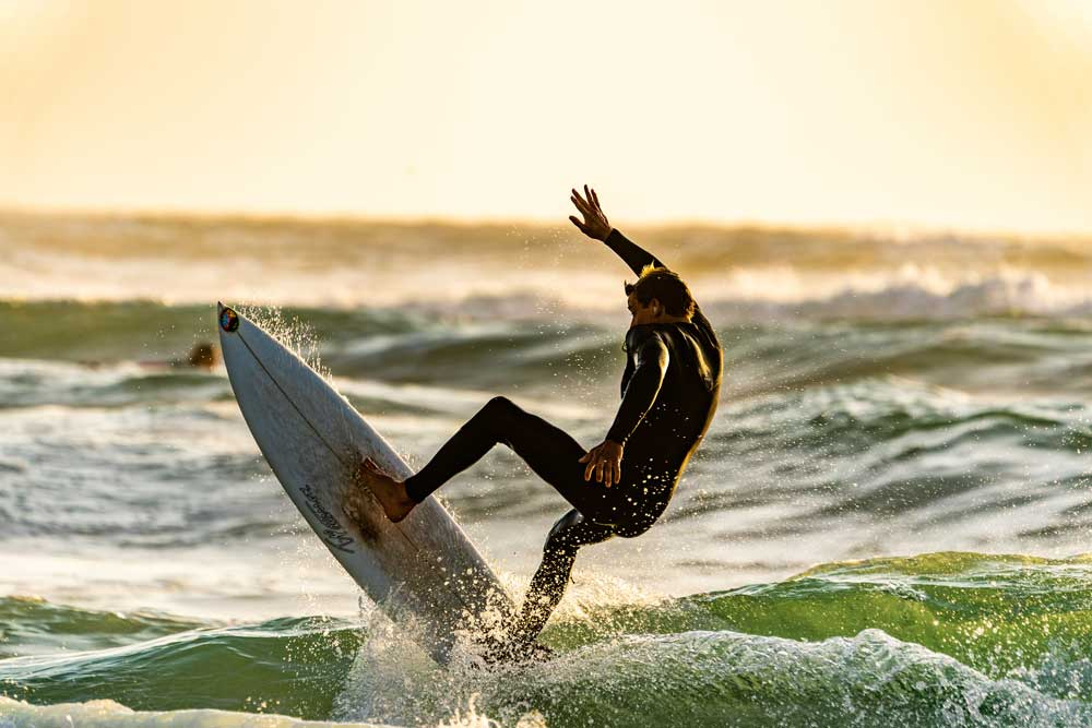 Mindfulness for athletes - surf