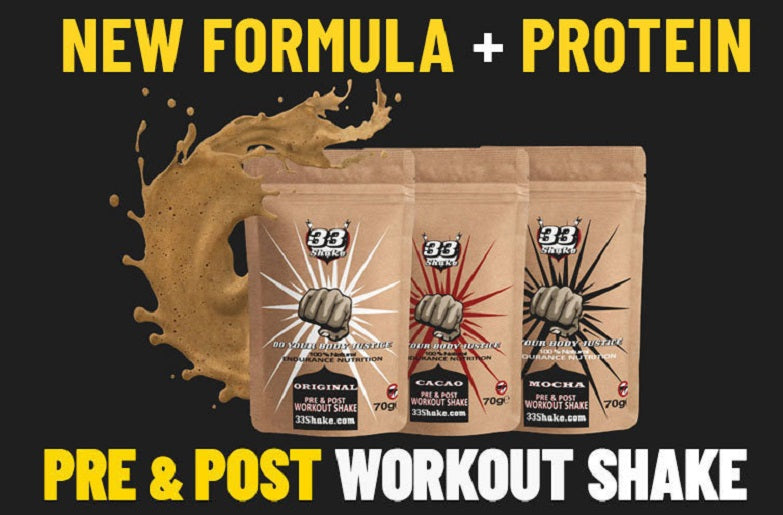 How many hours does it take to train for ironman - 33shake pre and post workout shake - nutrition
