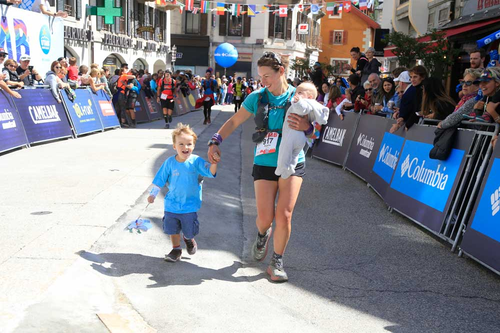 Sophie Power interview ultra running, entrepreneurship and breastfeeding during UTMB - family