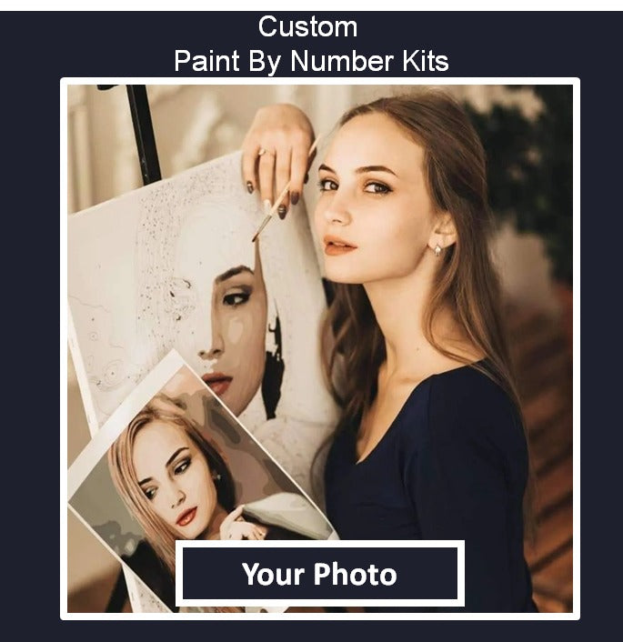 Customized Paint By Numbers Kit Paintiqa India