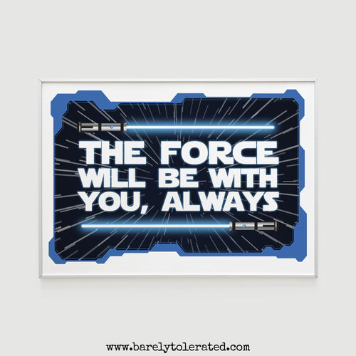 The Force Print Image