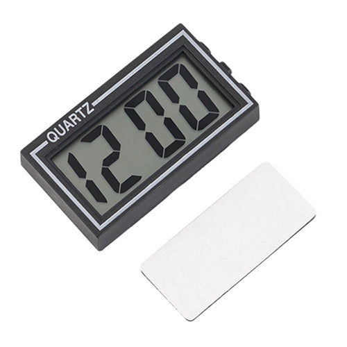 Digital LCD Screen Table Auto Car Dashboard Desk Date Time Calendar Small Clock