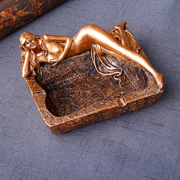 Creative Sexy Long Legs Beauty Resin Ashtray Cigarette Butt Holder Home Decor